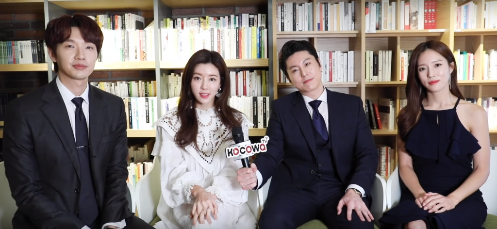 kdrama exclusive interview